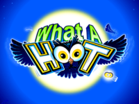 logo what a hoot microgaming slot game