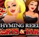 logo rhyming reels hearts and tarts microgaming slot game